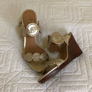 EUC Jack Rogers Luccia Wedge Size 8.5